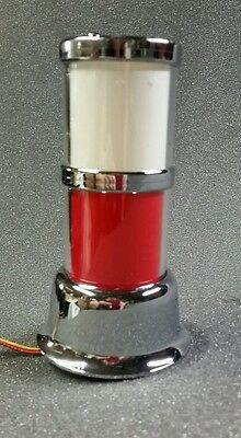 ARISTOCRAT Slot Machine RED & WHITE Two Tier Top Box Candle Light