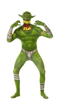Morphcostumes Adult Green Orc Jaw Dropper Morph Suit Size Medium Halloween - Green Morph Suit