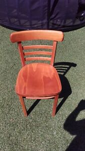 5 Bentwood Style Chairs Doubleview Stirling Area Preview