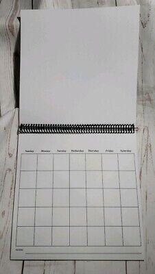 Premade 12x12 Unaltered Blank Scrapbook Calendar - TPHH - 12x12 Scrapbook