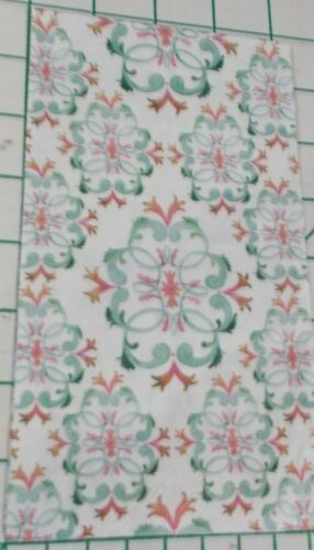 """Two Decorative Hostess Napkins for Decoupage """"Abstract Damask"""" 2-Ply"""