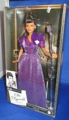 Barbie Firma Colección Inspiración Mujer Serie Ella Fitzgerald Aa Negro Muñeca