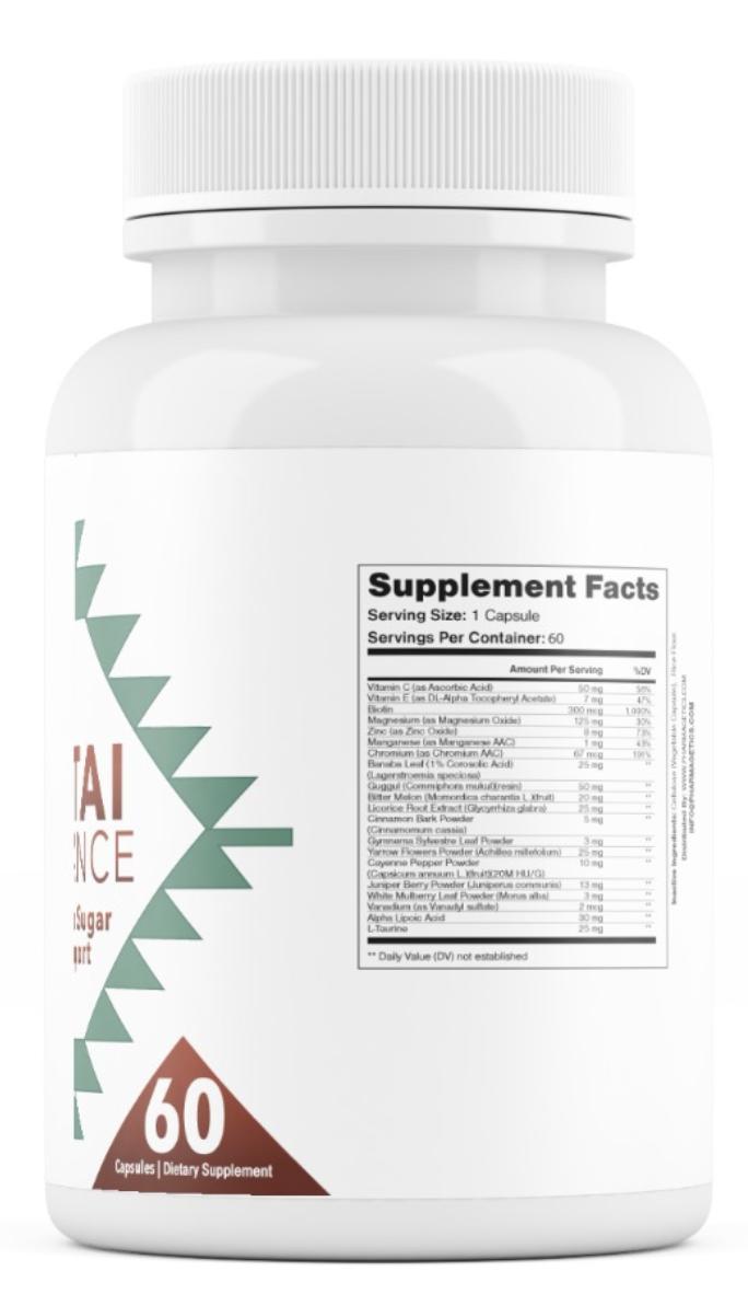 Altai Balance Herbal Supplement Supports Blood Sugar, Glucose Metabolism 60 Cap 1