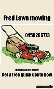 Fred lawn mowing Liverpool Liverpool Area Preview