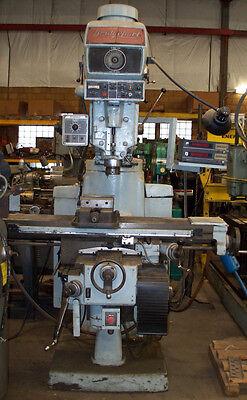 9680 Bridgeport Series Ii 4 Hp Vertical Mill