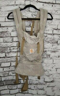 Ergo Baby Organic Carrier Dandelion Tan Brown Gray Front Hip Back Multi Position