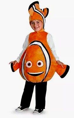 Finding Nemo Dress Up (Child Sz Small S 4-6 Disney Finding Nemo Deluxe Child Dress Up Plush Costume)
