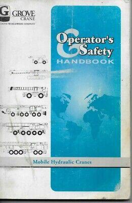 Grove Rt740 Mobile Hydraulic Crane Operators And Safety Handbook Manual