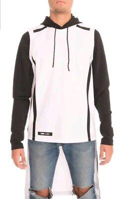 🔥$190 NEW PUMA X UEG Hooded Sweatshirt White Long 571712-02 Mens Sz. M