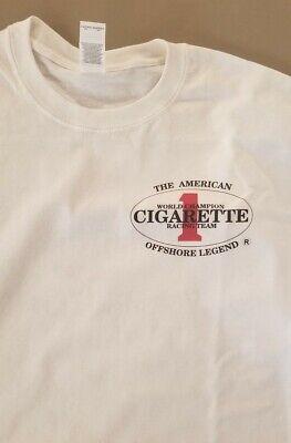 CIGARETTE Racing TEAM Boats t-shirt Marina Offshore legend Offshore Boat T-shirt