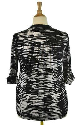 Avenue Women Tops Blouses 14 Plus White Polyester - $17.99
