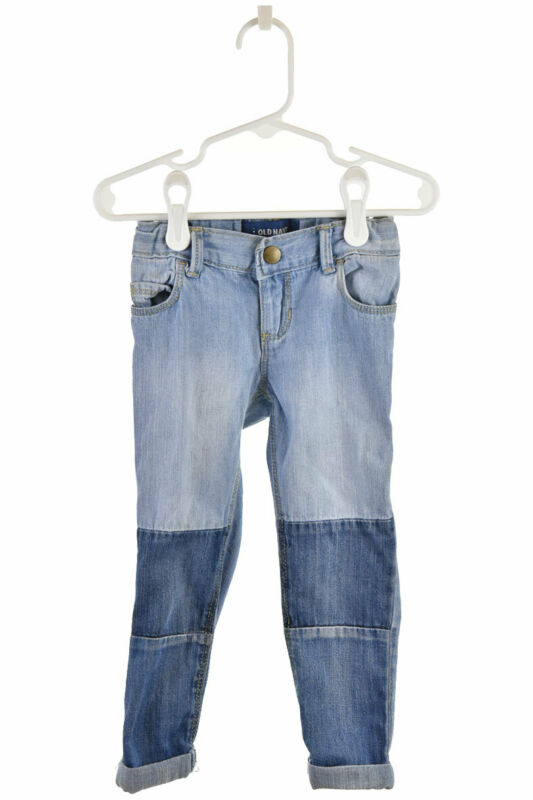 Old Navy Girls Jeans 3T Blue Cotton