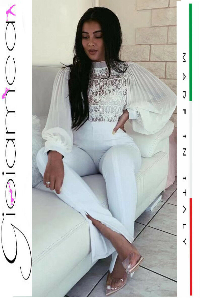 Camicia donna ragazza chiffon elegante sexy blusa fiocco scollata made italy