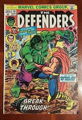 The defenders #10 - Hulk vs Thor