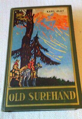 Old Surehand II Karl May Verlag Bamberg -   Band 15/1949  803 Tausend
