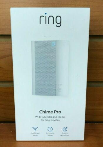 Ring Chime Pro Wi-Fi Extender and Indoor Chime (2nd Generation) White 8AC1PZ-0EN