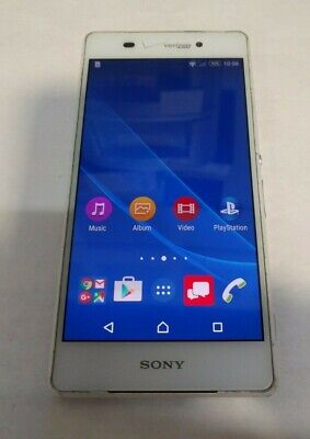 Sony Xperia Z3v 32GB(D6708)-White-Verizon Unlocked-Fully Functional-Read Below