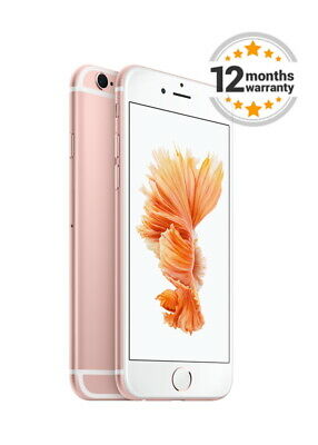 New Apple iPhone 6s+ Plus 16GB Rose Gold Unlocked Smartphone Sealed in Box