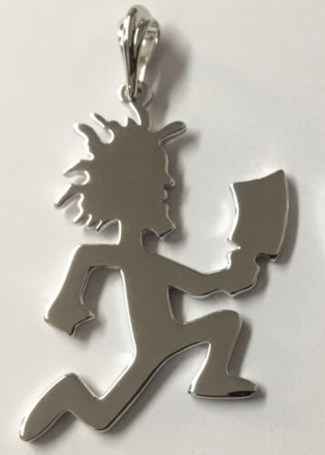 NEW OFFICIAL 2020 HATCHETMAN CHARM .925 SILVER INSANE CLOWN POSSE JUGGALO ICP
