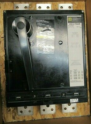 Square D Pcf2536 2500 Amp 600 Volt 100ka Breaker -reconditioned Test Report