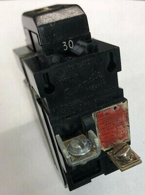 Ite P230 30 Amp 120240v 2 Pole Pushmatic Circuit Breaker Guaranteed 30a