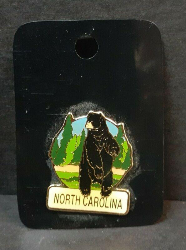 North Carolina Bear Hat Tac or Lapel Pin D