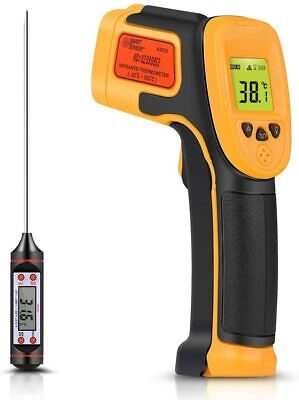 Infrared Thermometer Digital Ir Laser Thermometer Temperature Gun Hot