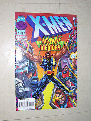 X Men Issue  52 Direct Edition Marvel 1996 Andy Kubert