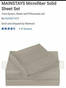 Double/Full Cotton Sheet Set