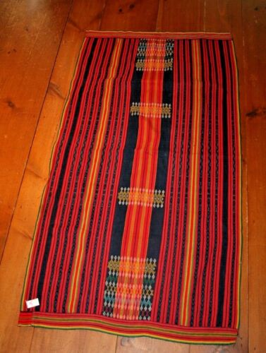Kalinga wrap skirt northern Luzon Philippines Hand Woven Ethnic Textile