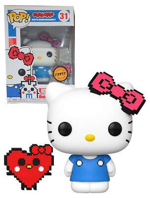Hello Kitty Persecución (8 Bit) 9.5cm Pop Vinyl Figura Funko Nuevo 45TH...
