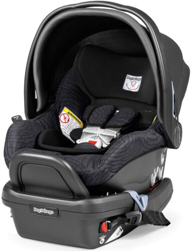 Peg Perego 2015 Primo Viaggio 4/35 Infant Car Seat with Base in Circles Grey