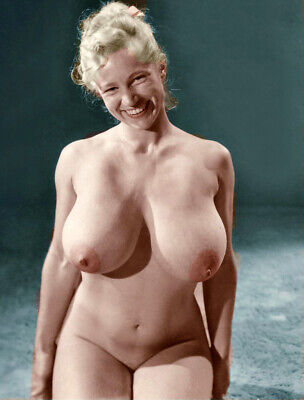 VINTAGE NUDE VIRGINIA BELL BIG BREASTS!! 8.5 X 11 GLOSSY QUALITY GUARANTEED!!