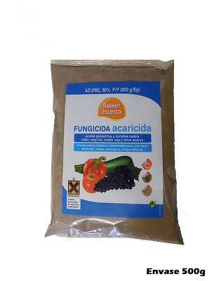 Fungicida Acaricida 500g Acción Preventiva Curativa Oidio, Negrilla, Araña Roja
