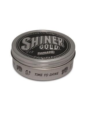 Hold Pomade (Shiner Gold Pomade Heavy Hold 118ml)