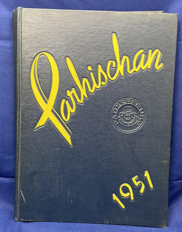 "1951 ""Parhischan"" Parkersburg High School West Virginia WV Yearbook Annual 7-12"
