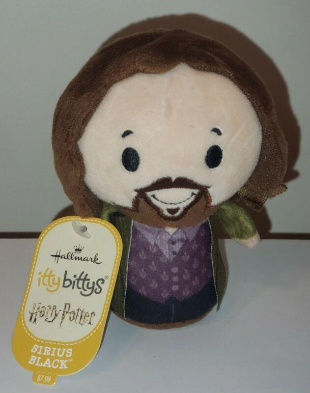 Hallmark Itty Bittys - SIRIUS BLACK (Harry Potter) NWT Stuffed Plush Toy NEW