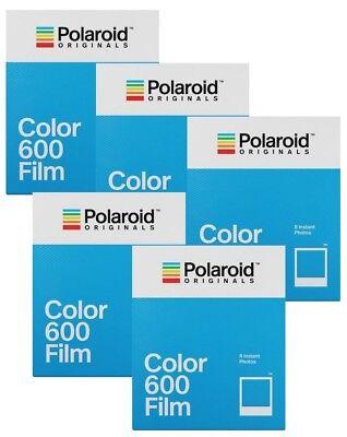 5x Polaroid Color 600 Sofortbildfilm / Farbfilm (5x 8 = 40 Aufnahmen) Sofortbild