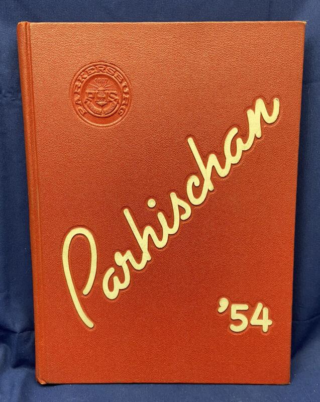 "1954 ""Parhischan"" Parkersburg High School West Virginia WV Yearbook Annual 7-12"