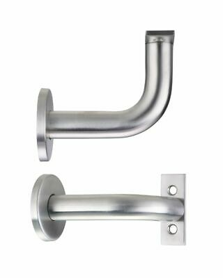 82 Mm Rose (Handrail Bracket 82mm Centre Line Concealed Fixing Rose Satin Stainless Steel)