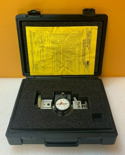 Daniels DMC DBS-CG1  Calibration Test Fixture. Bending Tools + Case. Tested!