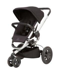 Quinny buzz xtra stroller in black