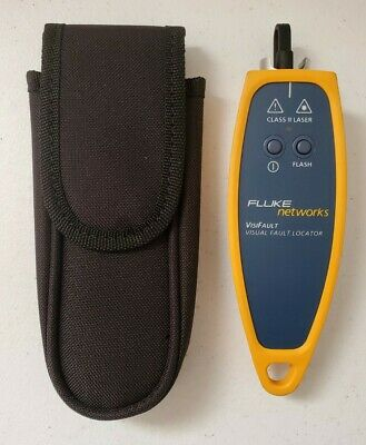 Fluke Networks Visifault Visual Fault Locator Fiber Cable Continuity Tester