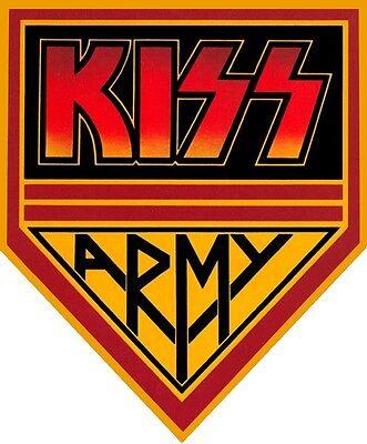 Kiss # 11 - 8 x 10 Tee Shirt Iron On Transfer Army