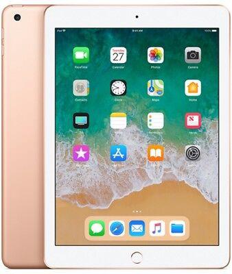 """Apple iPad 2018 Wi-Fi 32GB 9.7"""" MRJN2 IOS11 NEU OVP Tablet- Gold"""