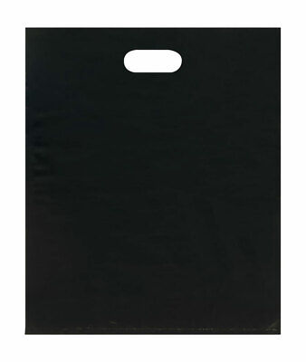Merchandise Bags - Lightweight - Black - 15x18 - Pack Of 500