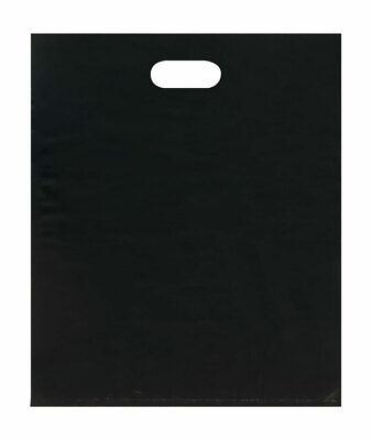 Merchandise Bags - Lightweight - Black - 15x18 - Pack Of 500