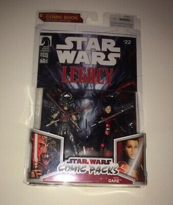 Darth Krayt Sigel Dare STAR WARS Saga MOC Comic Pack Packs #22 #8