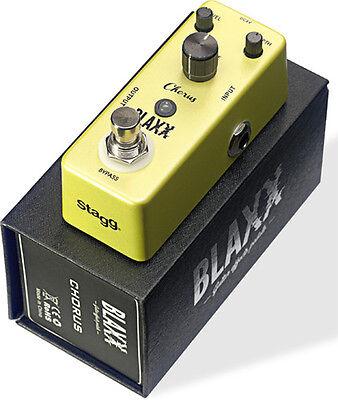 Stagg Blaxx Chorus Compact Guitar Pedal