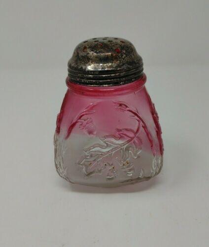 Northwood Rubina Sugar Shaker Muffineer Royal Oak EAPG glass